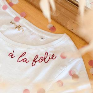 T-Shirts Brodés main